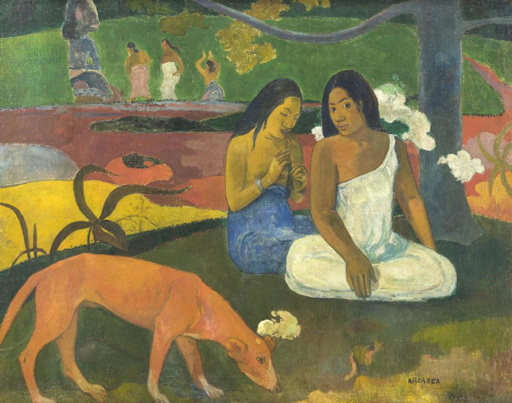 Paul Gauguin. Arearea (Joyfulness)