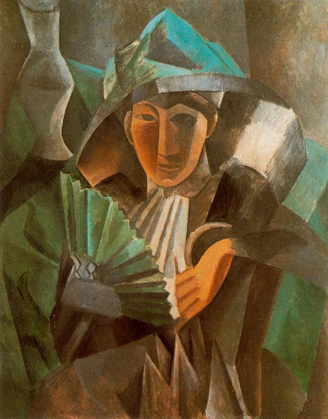 Пабло Пикассо. Дама с веером