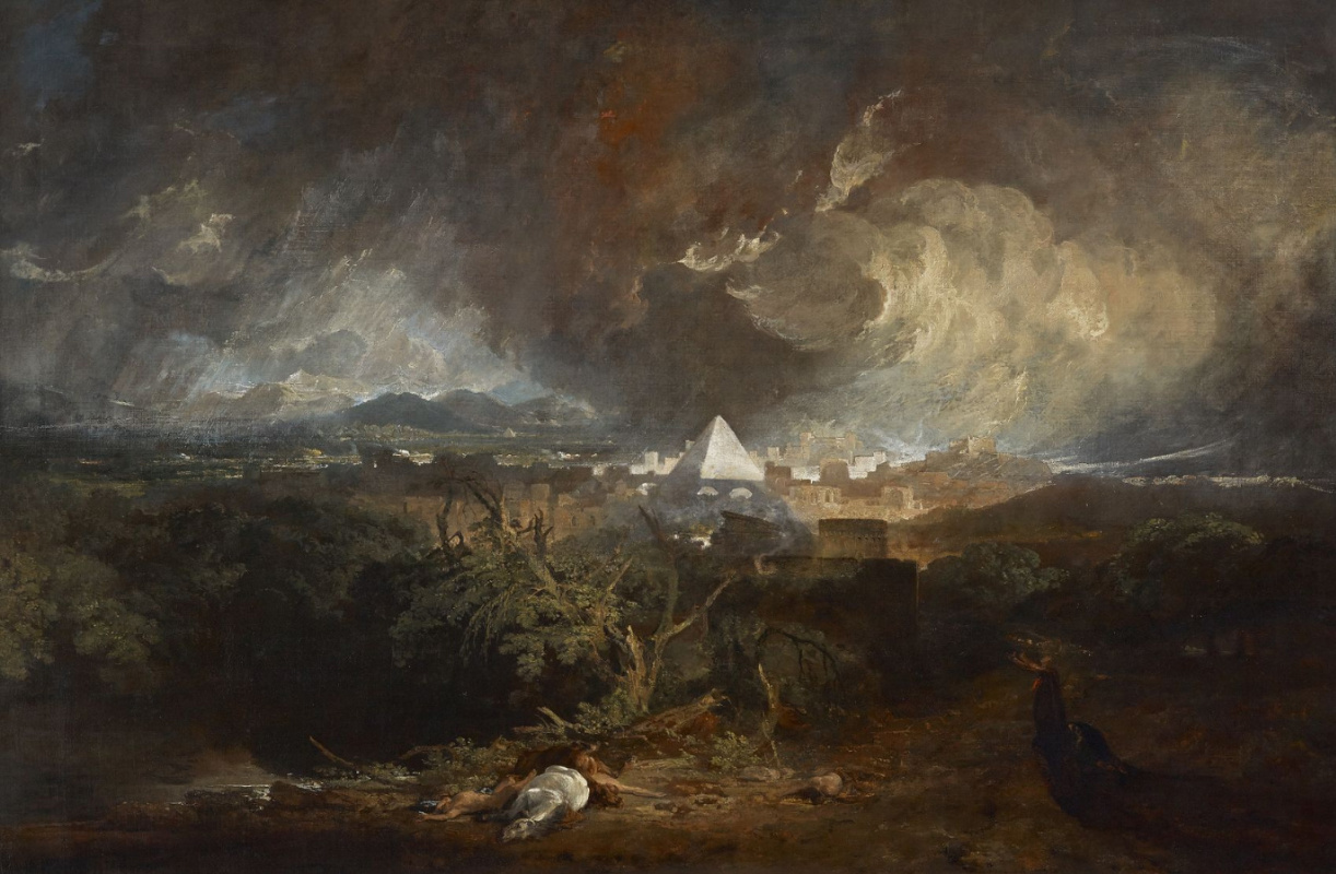 Joseph Mallord William Turner. The fifth plague of Egypt (plague of cattle)