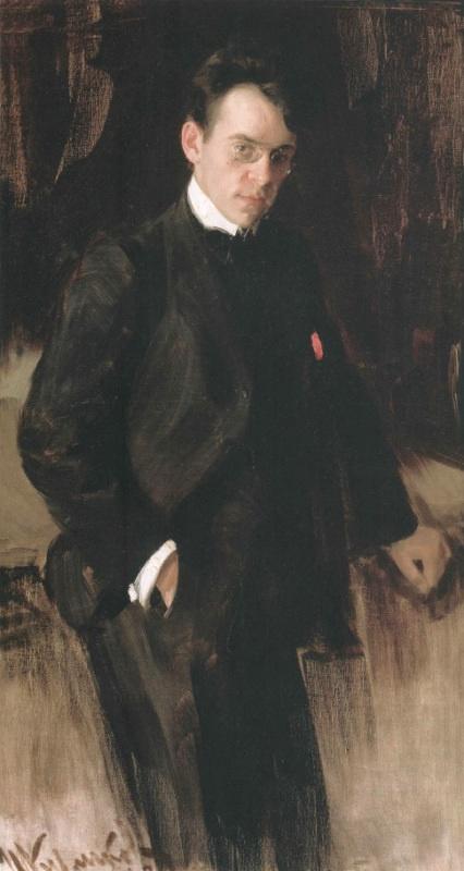 Иван Семенович Куликов. Портрет В.А. Щуко. 1902