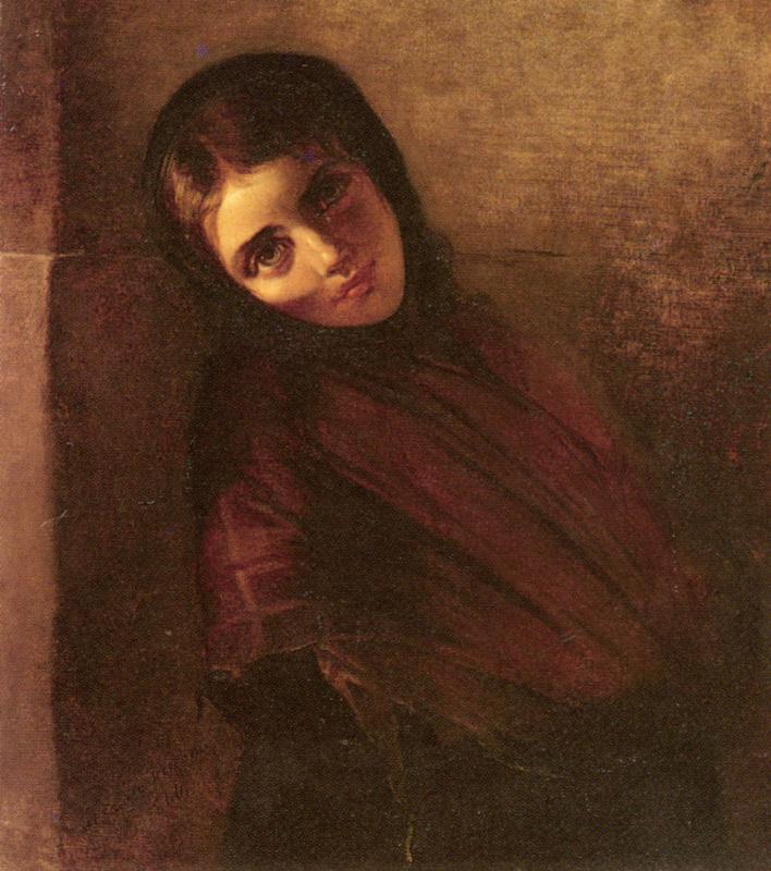 Элизабет Йерихау-Бауман. Молодая девушка
