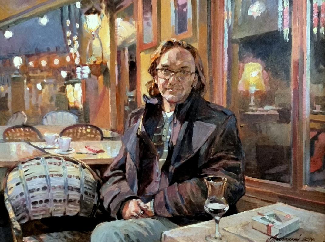 George Lapchinsky. Self-portrait