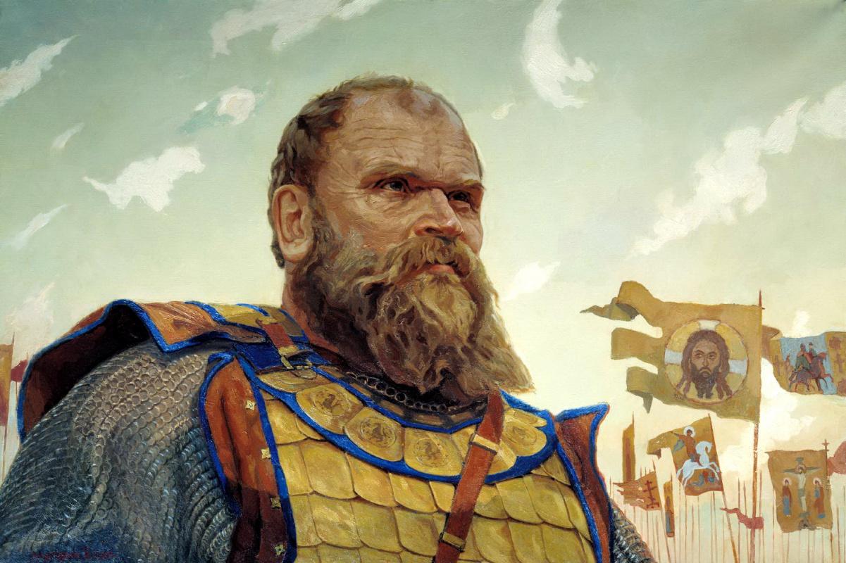 Виктор Маторин. Герой Куликовской битвы