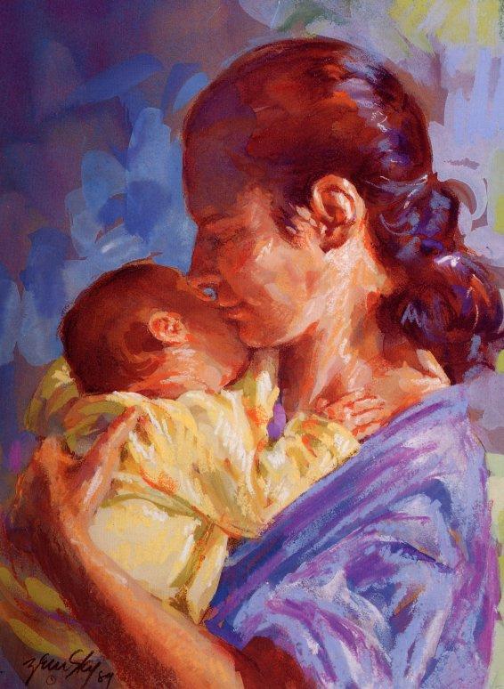 Джессика Земски. Мать и дитя