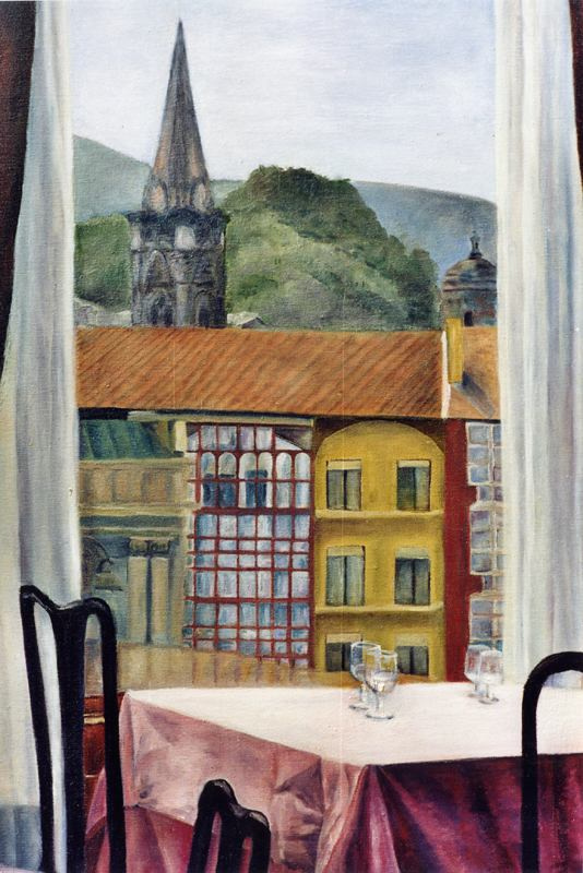 Боррего Руис. Вид из окна