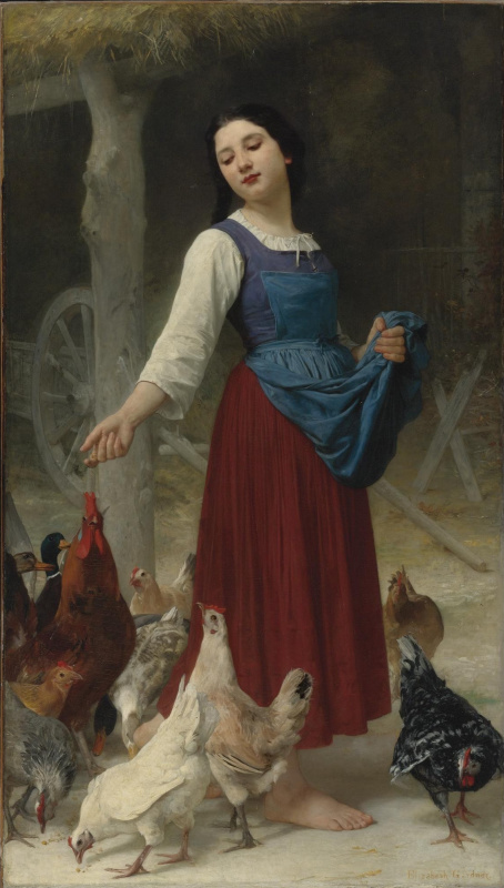 Elizabeth Gardner Bugro. The farmer's daughter