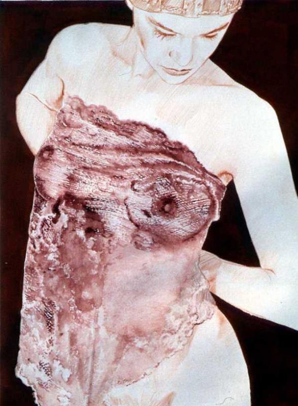 Жан-Клод Клаеус. Фиолетовые кружева