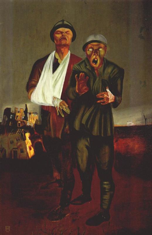Юрий Иванович Пименов. Инвалиды войны