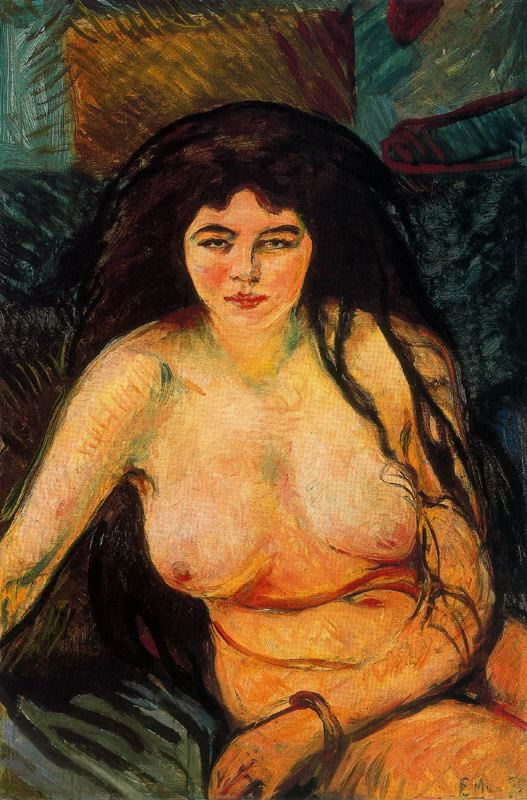 Edward Munch. Beast