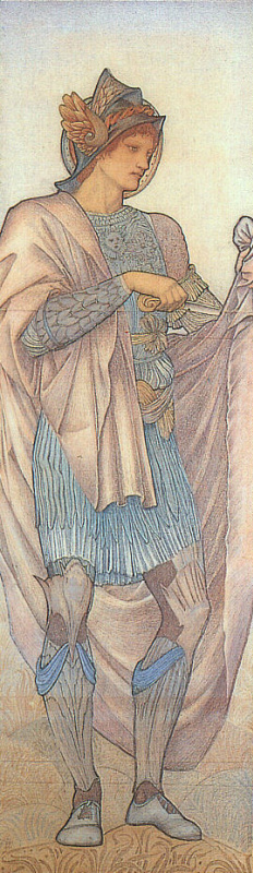 Edward Coley Burne-Jones. Saint martin