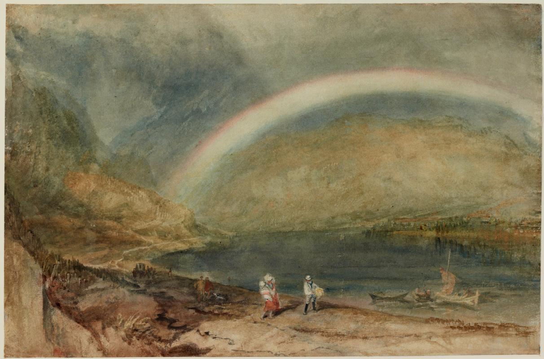 Joseph Mallord William Turner. Rainbow: Osterspai and Vilsen