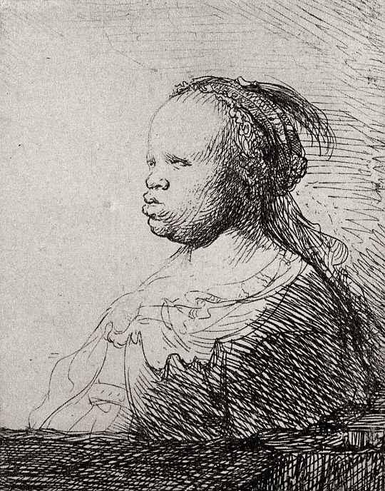 """Рембрандт Ван Рейн. Так называемая """"Белая негритянка"""""""