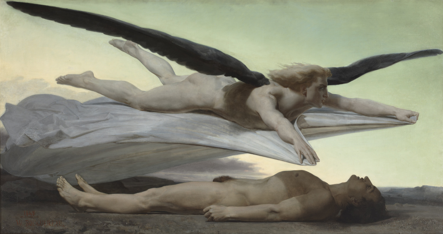 William-Adolphe Bouguereau. Equality Before Death