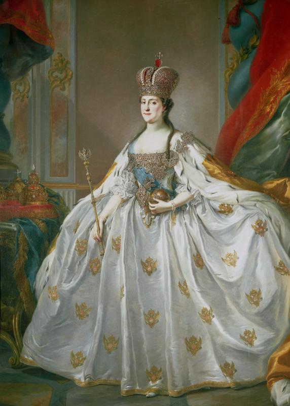 Стефано Торелли. Портрет императрицы Екатерины II