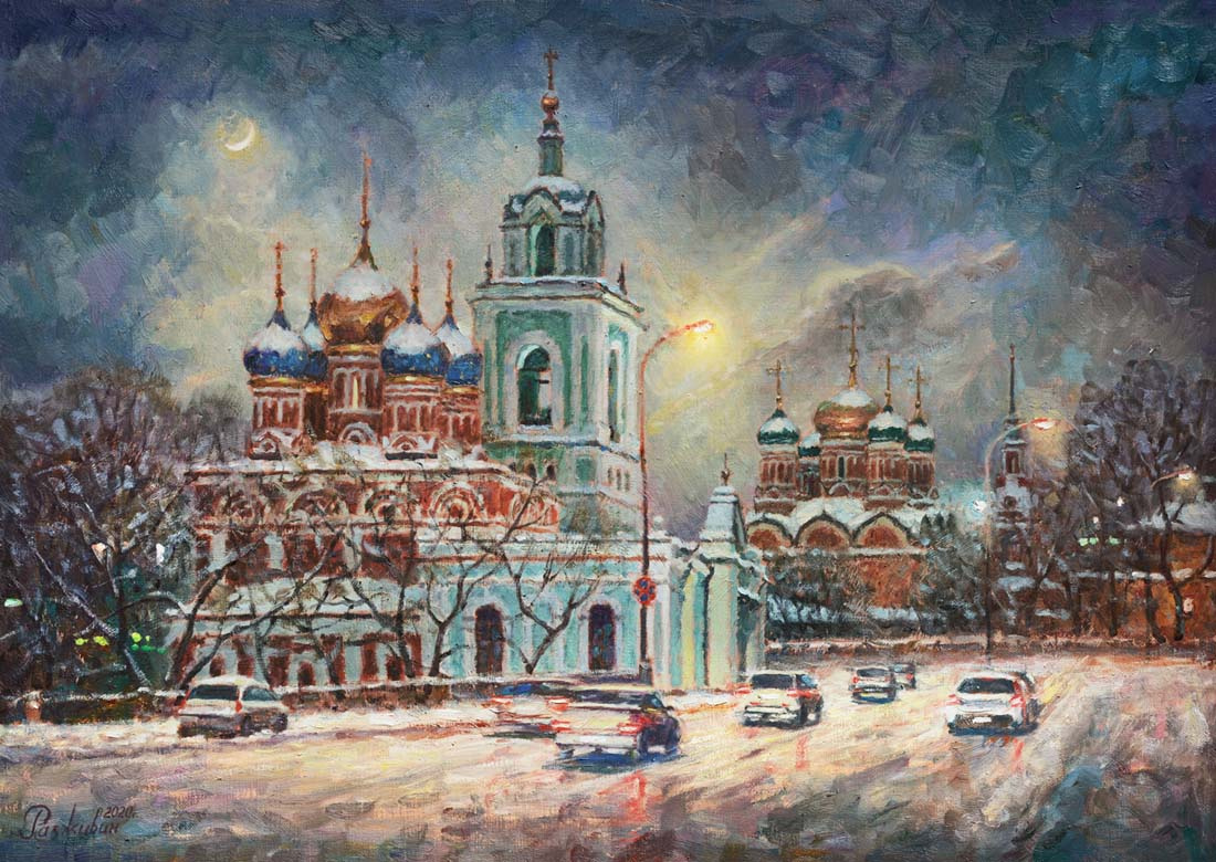 Igor Razzhivin. Hello, Zimushka-winter!