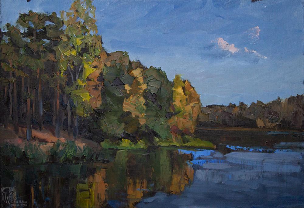 Svetlana Holodnyak. Gold of autumn