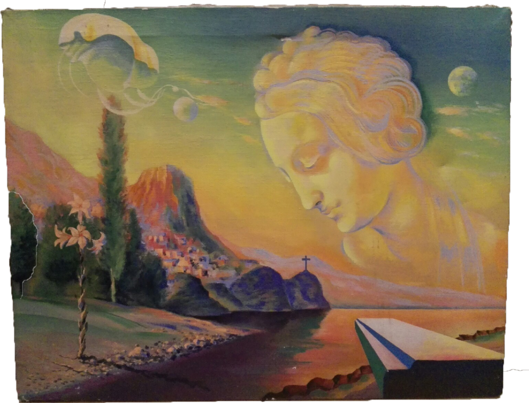 Unknown artist. Cloud based on S.DALI
