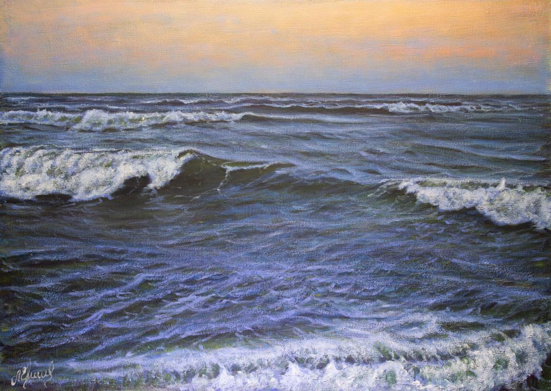 Valery Levchenko. № 616  Морской пейзаж.
