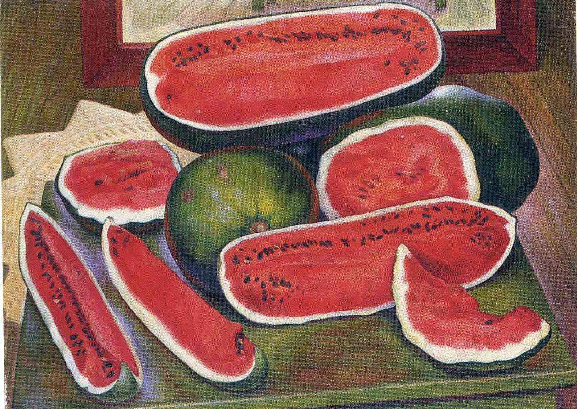 Diego Maria Rivera. Watermelons