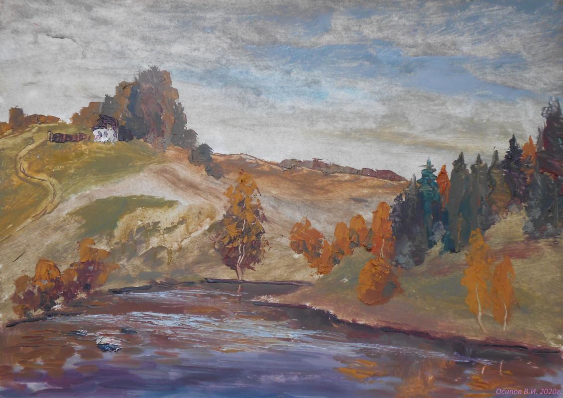 Владимир Иванович Осипов. River old woman
