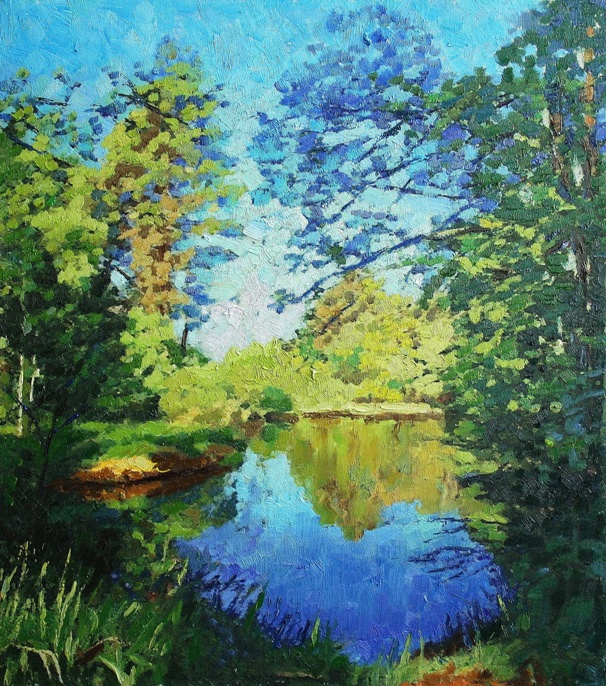 Mikhail Rudnik. Forest River
