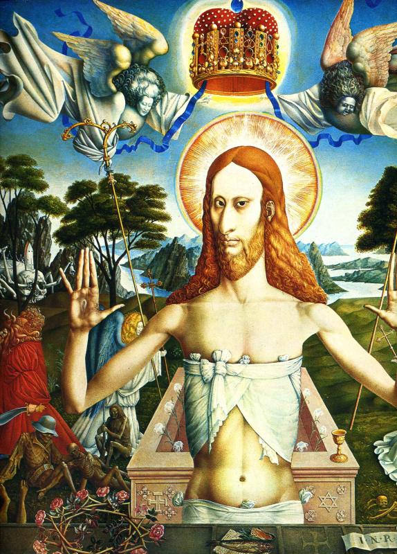 Эрнст Фукс. Воскресение Христа