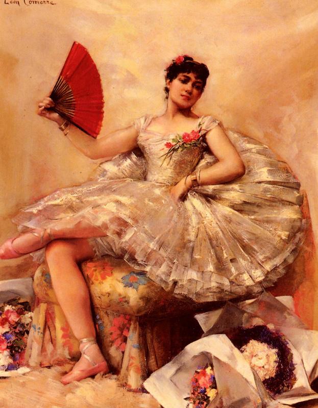 Леон Франсуа Комерр. Портрет балерины Розита Маури