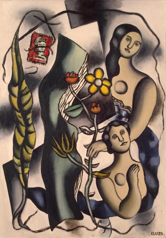 Fernand Leger. Postcard
