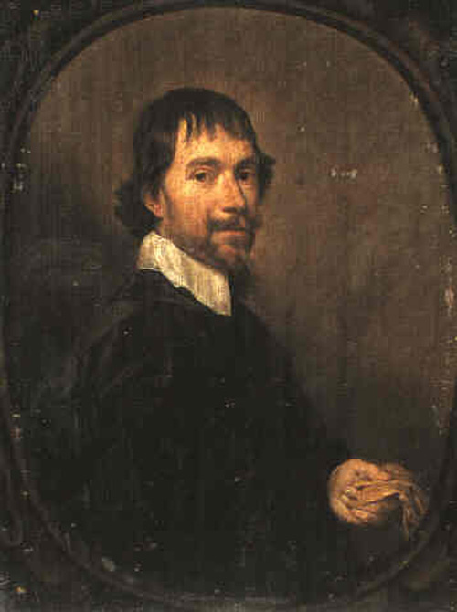 Ян Мейтенс. Портрет человека, держащего перчатки
