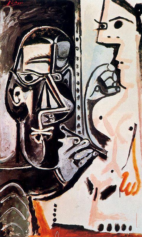 Пабло Пикассо. Художник и его модель 5
