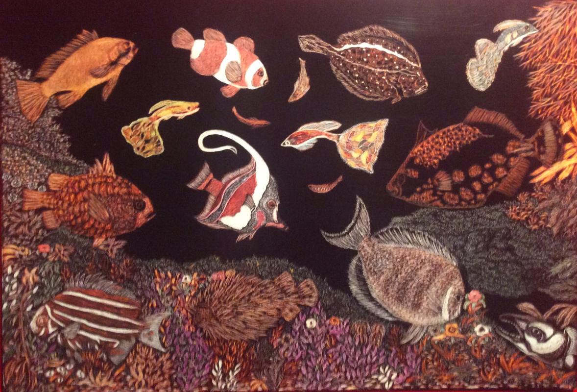 Martin Gurgenovich Ashkhatoev. Fishes 3