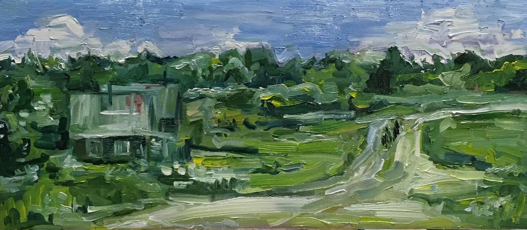 Vsevolod Chistyakov. Paintings To Buy In St. Petersburg Landscape Oil Paintings