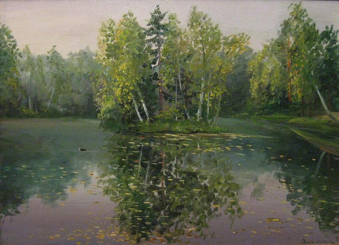 Marina Dmitrievna Razin. Etude. Barsky pond