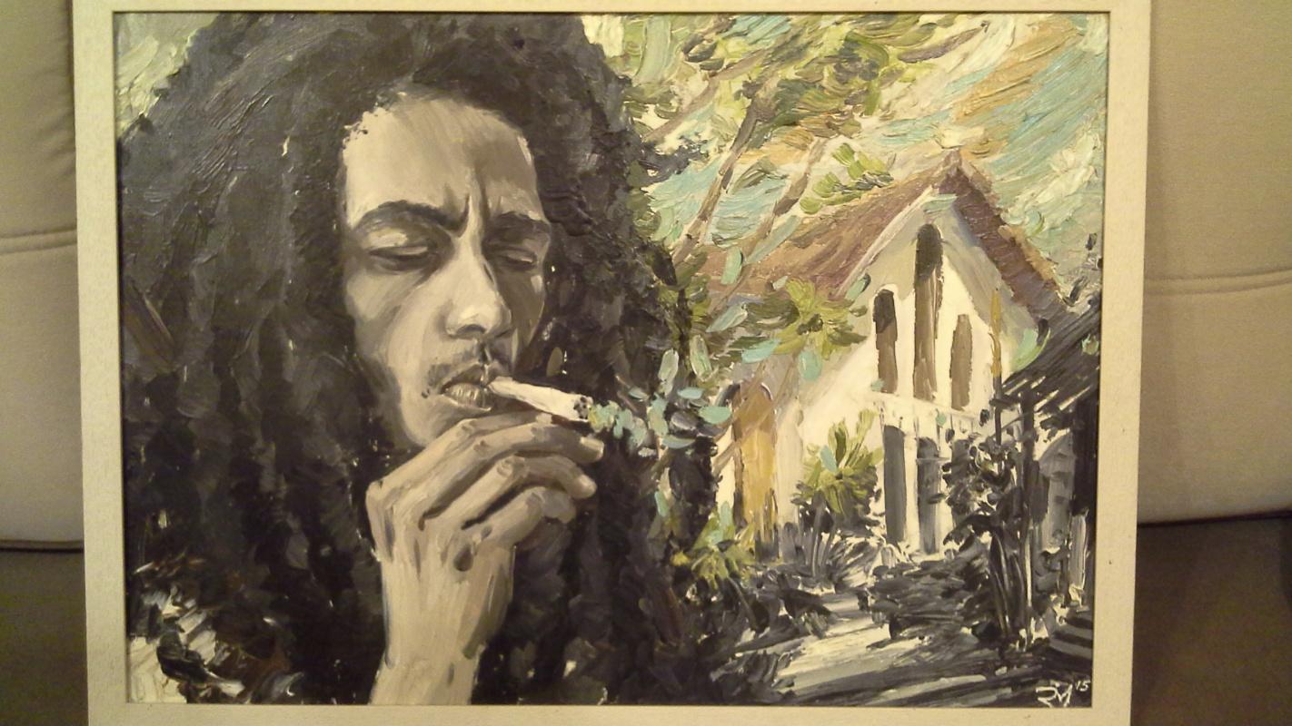 Unknown artist. Bob marley