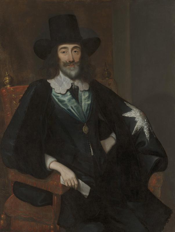Эдуард Боуэр. Карл I на суде