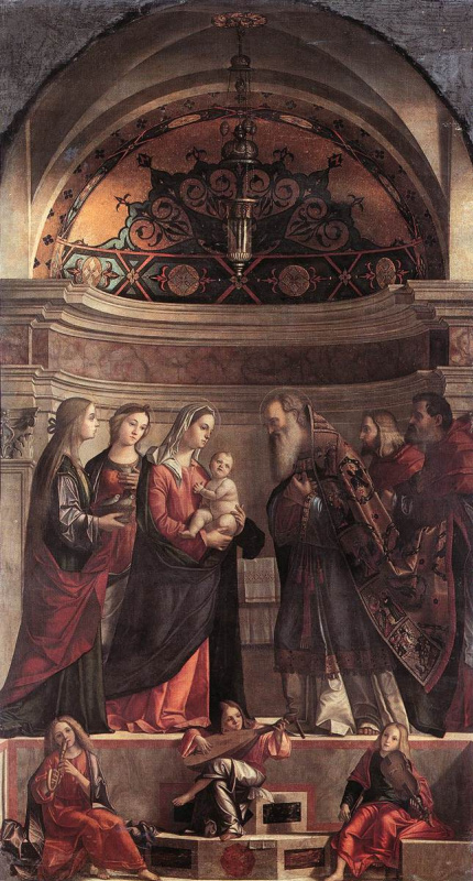 Витторе Карпаччо. Представление Иисуса в храме