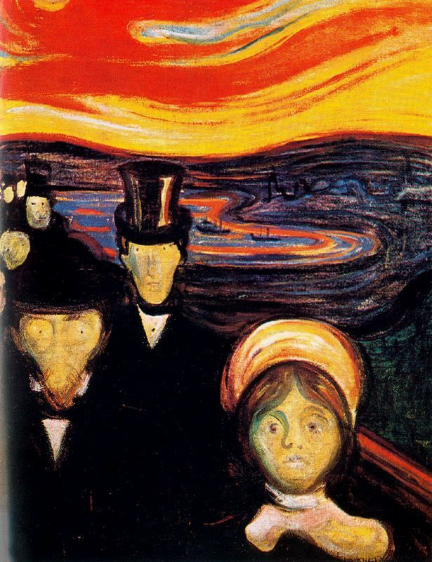 Edvard Munch. Anxiety