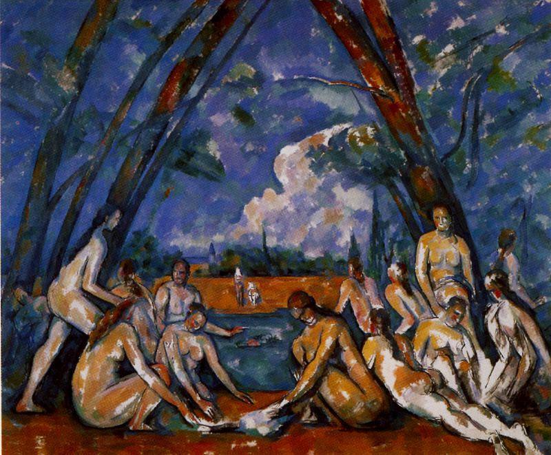 Paul Cezanne. Bathing