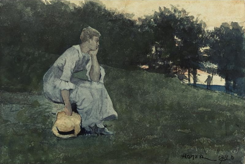 Winslow Homer. Waiting
