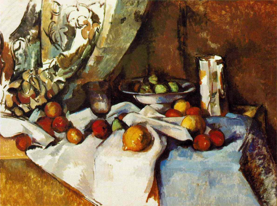Paul Cezanne. Still life with apples