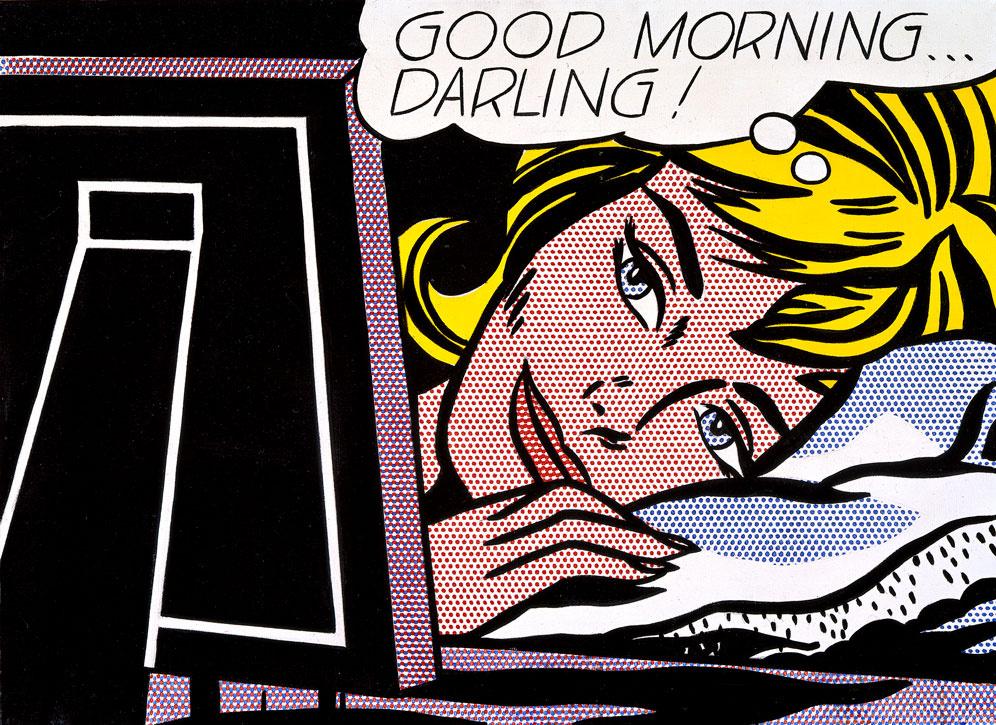 Рой Лихтенштейн. Доброе утро, дорогая!