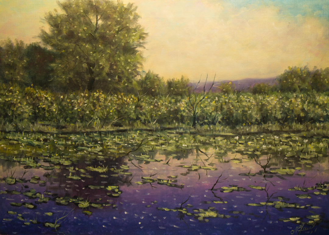 Valery Levchenko. No. 380 Lake Chubatoe