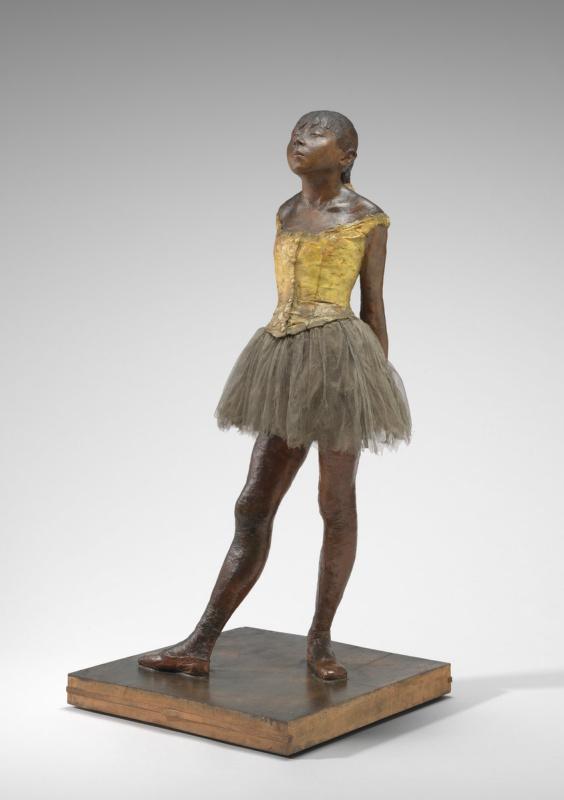 Edgar Degas. Little fourteen year old dancer