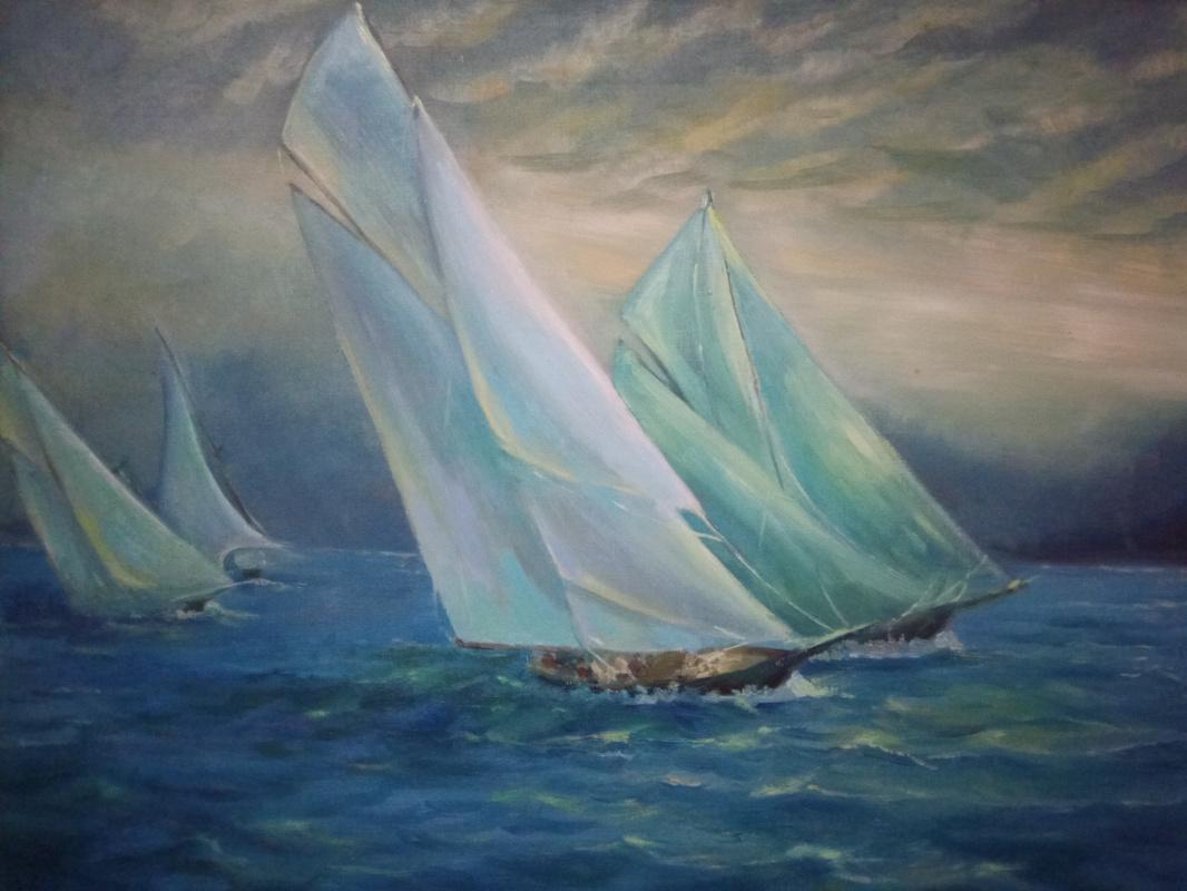 Stetskaya Alexandrovna Elena. Морское путешествие