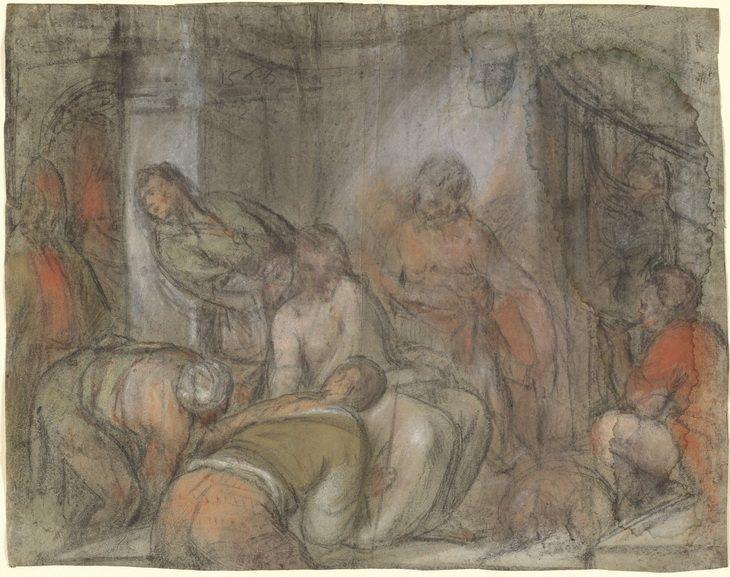 Jacopo da Ponte Bassano. The mockery of Christ