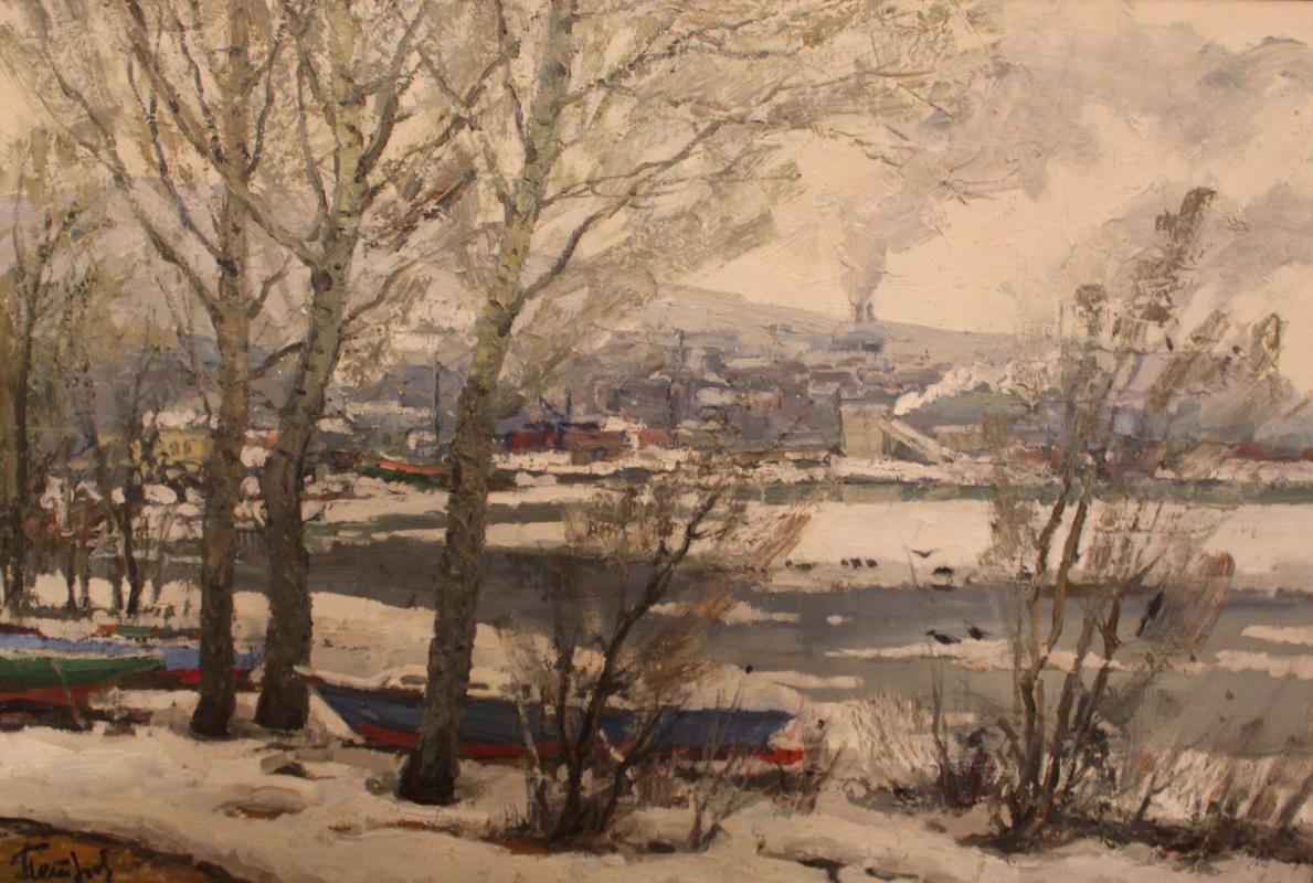 Yury Yakovlevich Petrov. Spring