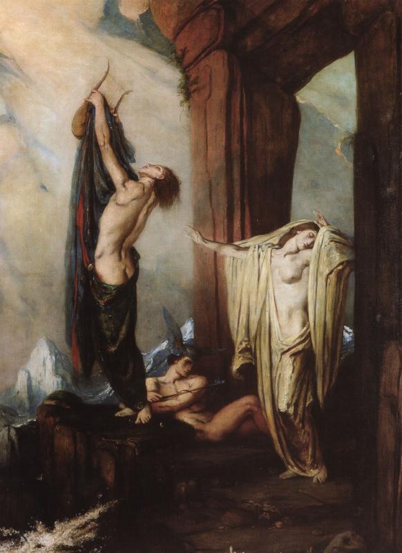 Шарль де Суси Рикеттс. Орфей и Эвридика