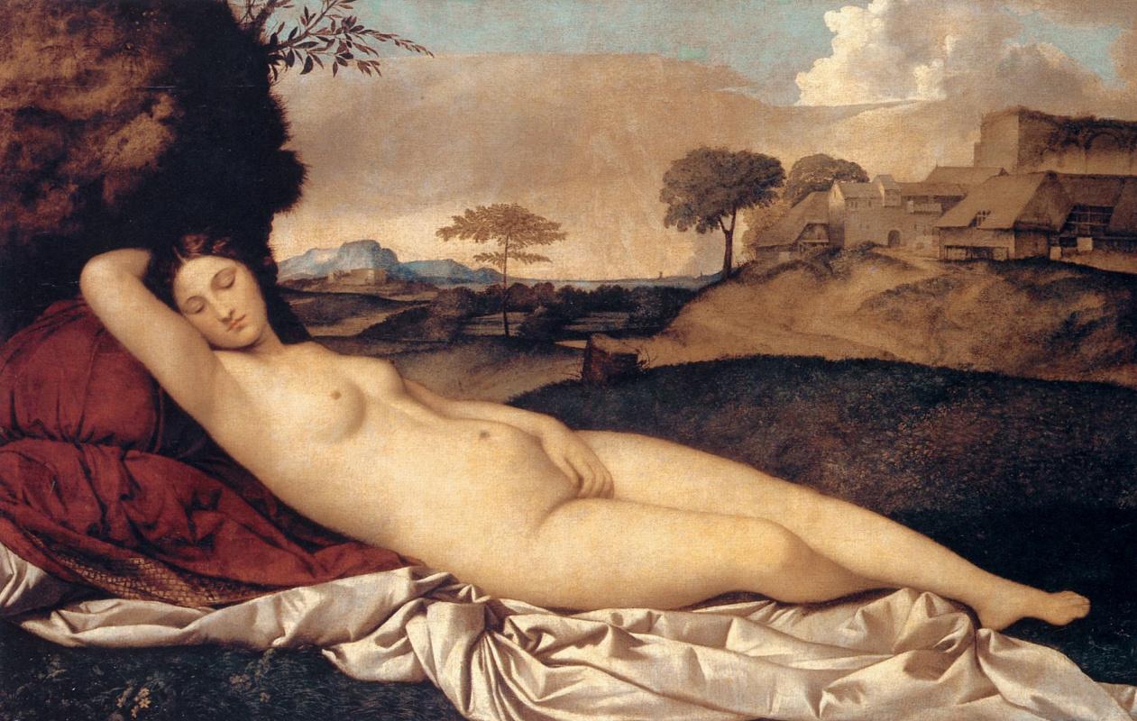 Джорджоне. Спящая Венера