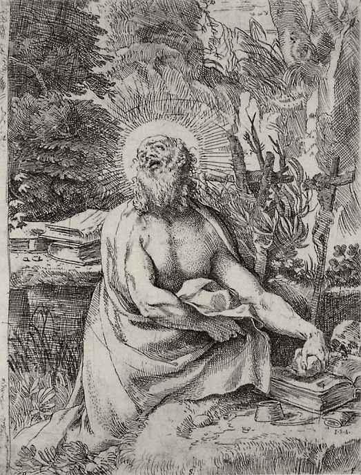 Аннибале Карраччи. Святой Иероним