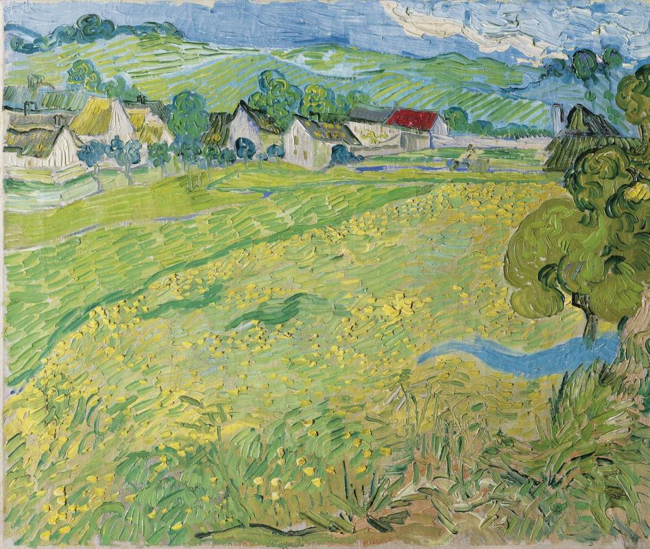 Vincent van Gogh. In Auvers
